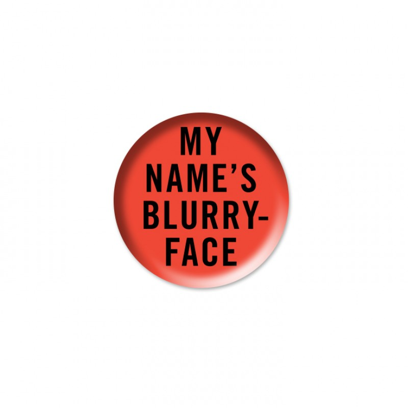 My Name Is Blurryface Pin