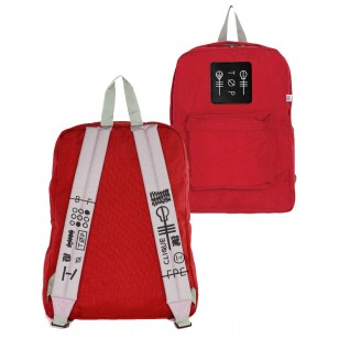 Stressed Out Red Backpack