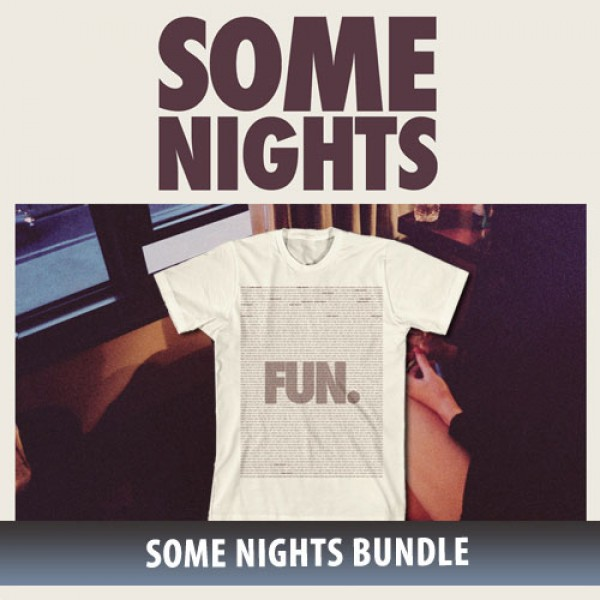 Fun. Some Nights Lyric T-Shirt Bundle
