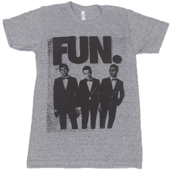 FUN. Grey Tux Tri-Blend T-Shirt