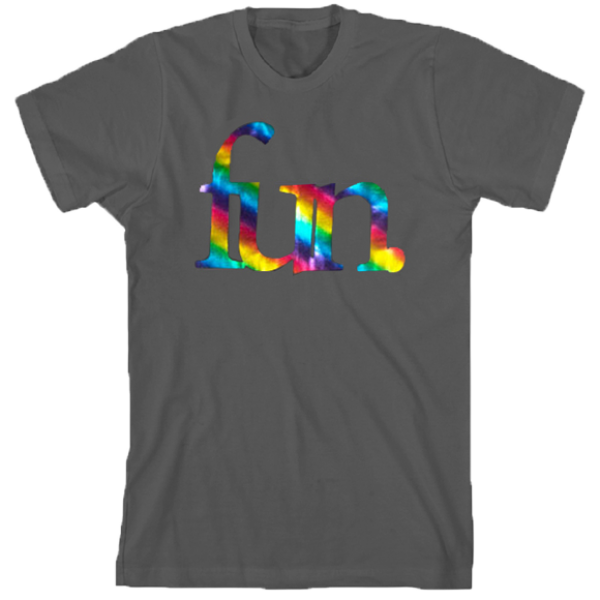 Grey Rainbow Foil T-Shirt