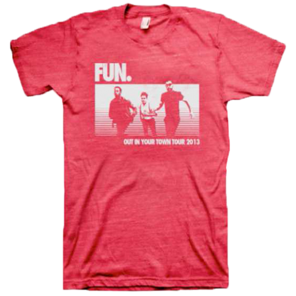 Red Runners Tour T-Shirt