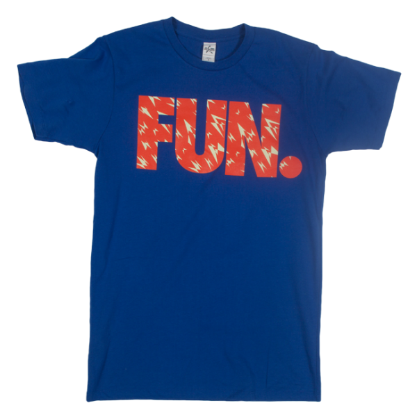 Fun. Royal Blue Shard T-Shirt