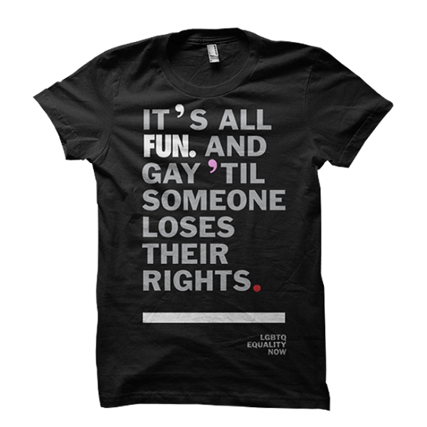 Black LGBTQ T-Shirt