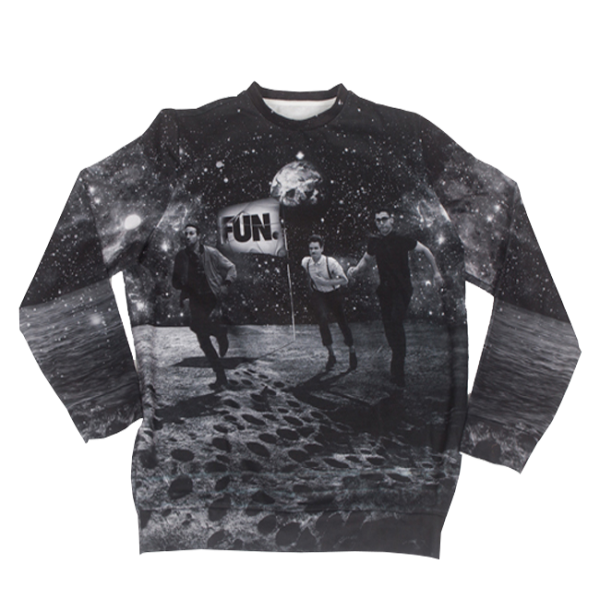 FUN. Moon Landing Crewneck Sweatshirt