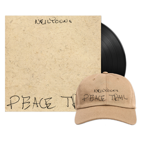 Peace Trail Organic Hat & Vinyl Bundle