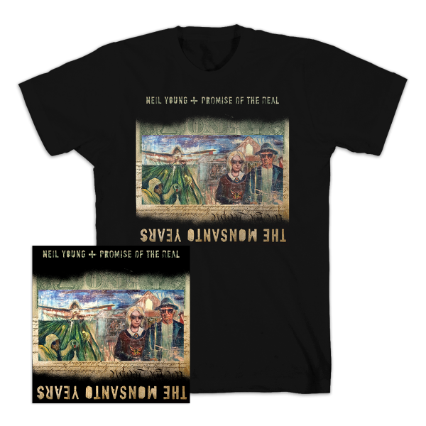 The Monsanto Years CD and T-Shirt Bundle