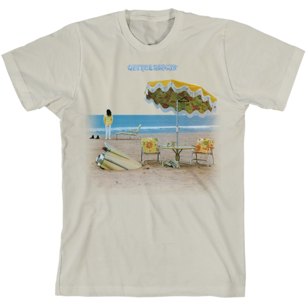 On The Beach Organic Slim Fit T-Shirt