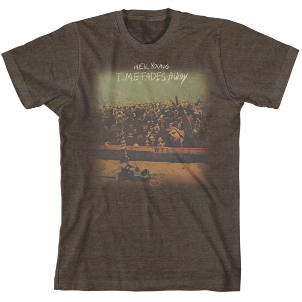 Time Fades Away Organic Slim Fit T-Shirt