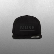 All Black Clean Logo Hat - Muse Official Store