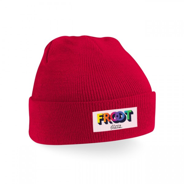 FROOT of the month beanie (red)