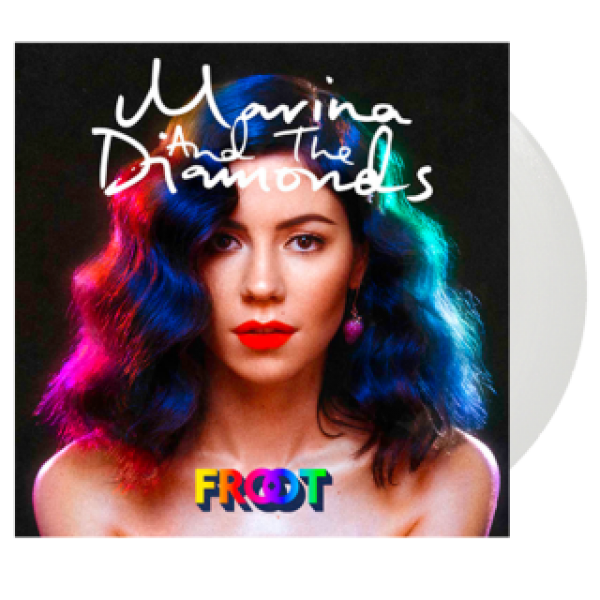 FROOT Diamond White Vinyl Album
