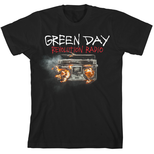 GREEN DAY REVOLUTION RADIO COVER T-SHIRT