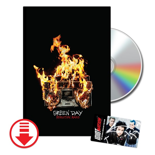 Green Day Revolution Radio Lyric Book + Fan Club
