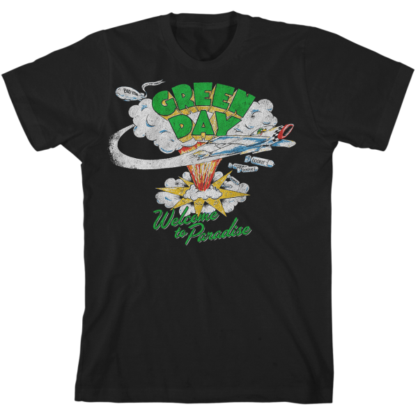 GREEN DAY Welcome To Paradise T-Shirt