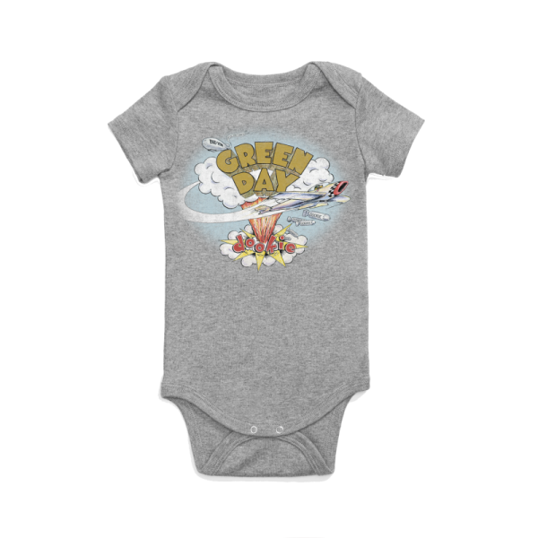Green Day Dookie Babygrow