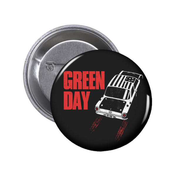 Green Day Car Button