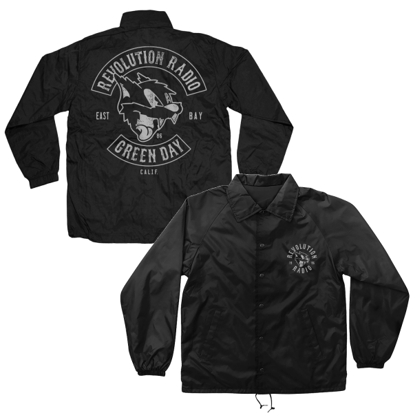 Green Day Outlaws Rocker Windbreaker