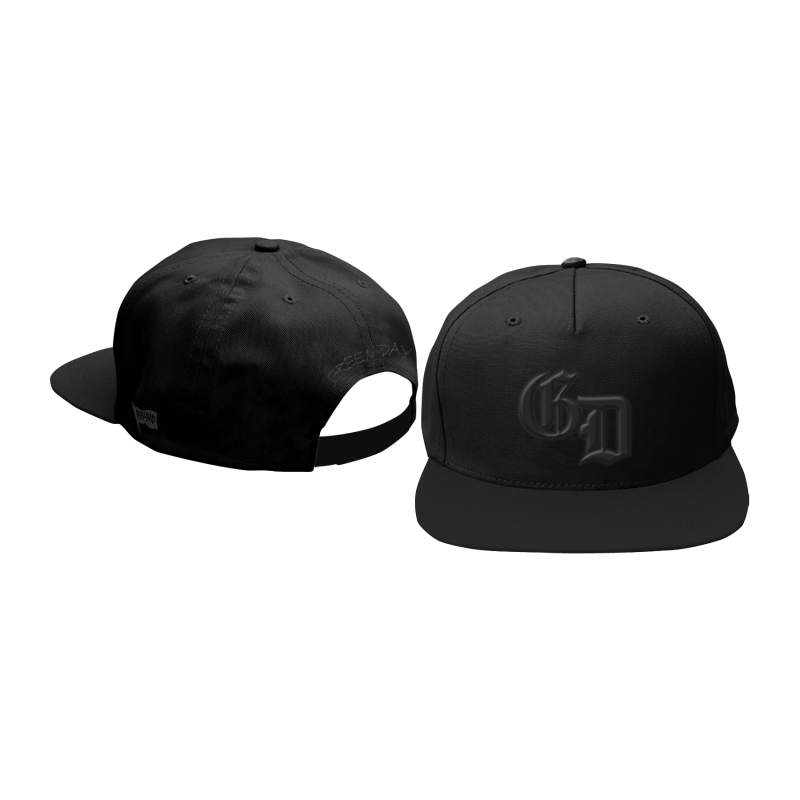 Blacked Out Logo Snapback Hat