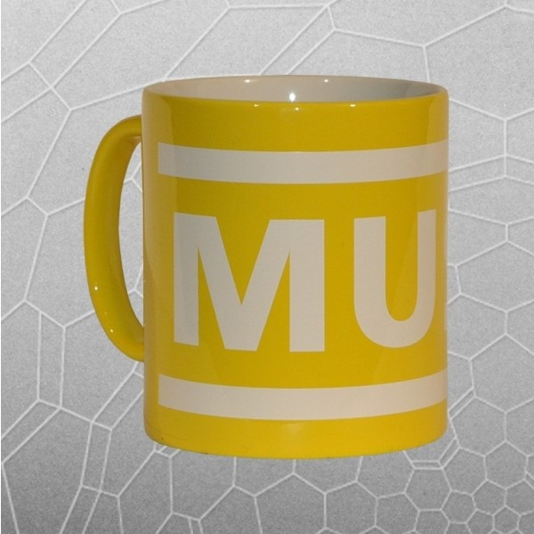 Muse Logo Mug (Yellow)