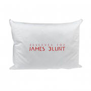 Reserved For James Blunt White Pillow Case