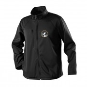 James Blunt Black Foot Patch Zip Jacket