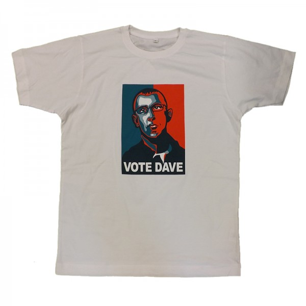 Blur Vote Dave T-shirt