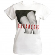 Graham Coxon Knees White Ladies T-shirt