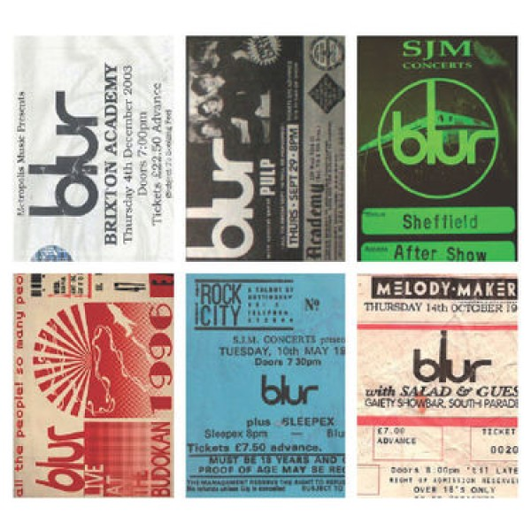 Blur Postcard Set