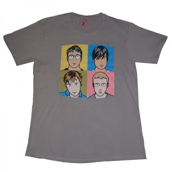 Blur | Best Of Grey T-Shirt | Official Store