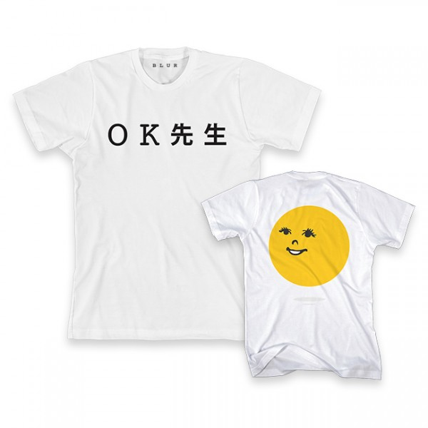 Mr OK White T-shirt