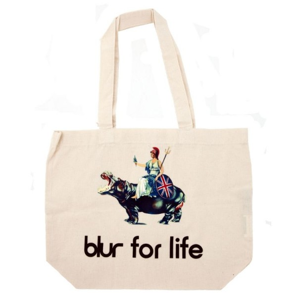 Blur For Life Tote Shopper Bag