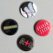 Graham Coxon 4 Badge Set