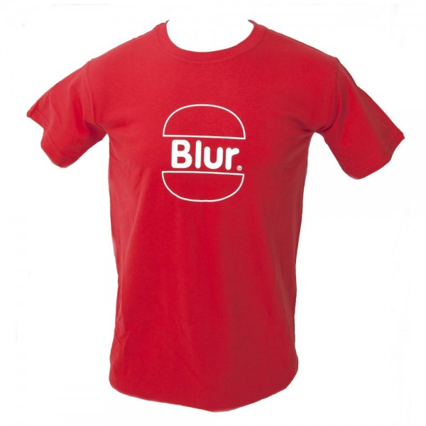 Blur McNuffin & Chips Red T-Shirt