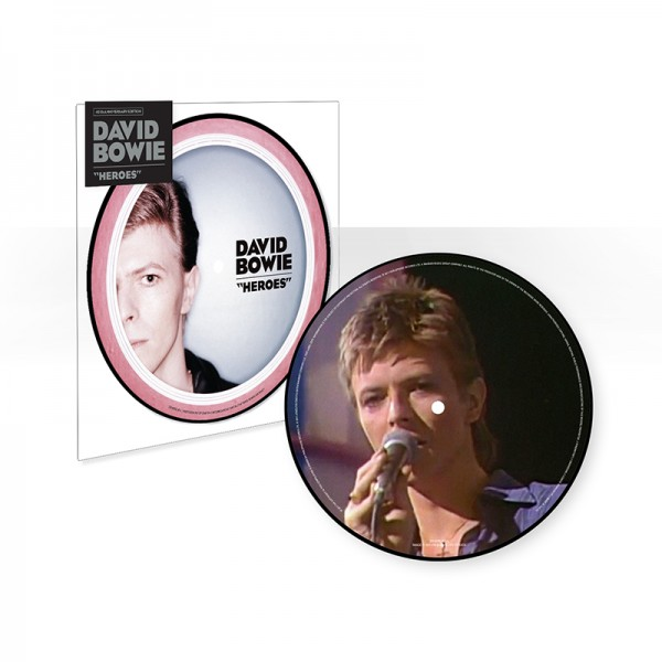 """Heroes (40th Anniversary 7"""" Picture Disc)"""