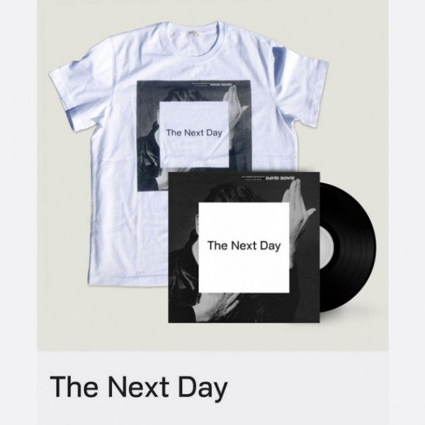"The Next Day - 12"" Vinyl & Paul Smith T-Shirt"