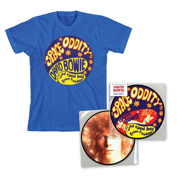Space Oddity Limited Edition T-Shirt Bundle