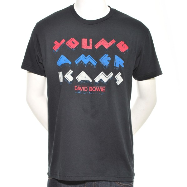 Limited Edition Young Americans Text Slim Fit T-Shirt