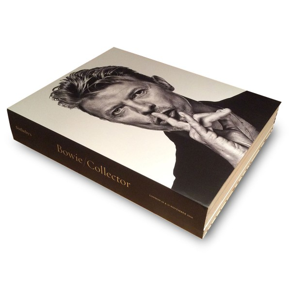 Sotheby's: Bowie/Collector - Cover