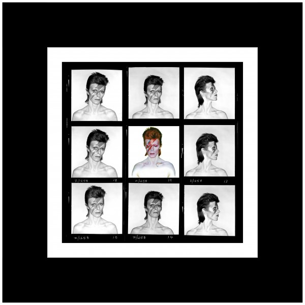 Duffy 'Aladdin Sane Demi Contact' Print (Mounted Black)