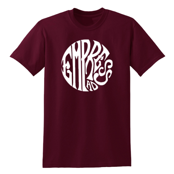 Maroon Circle Trip T-Shirt