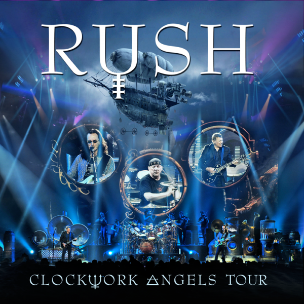 Clockwork Angels Tour CD Album