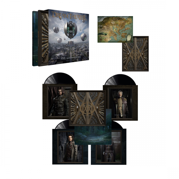 Dream Theater The Astonishing Vinyl Box Set