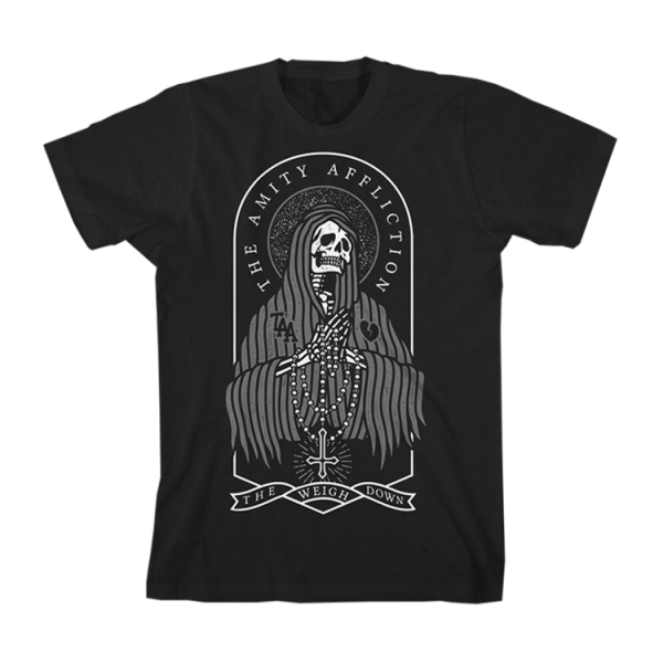 The Amity Affliction The Weigh Down Reaper T-Shirt