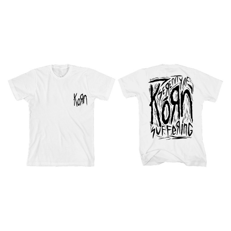 Korn Scratched Type T-Shirt