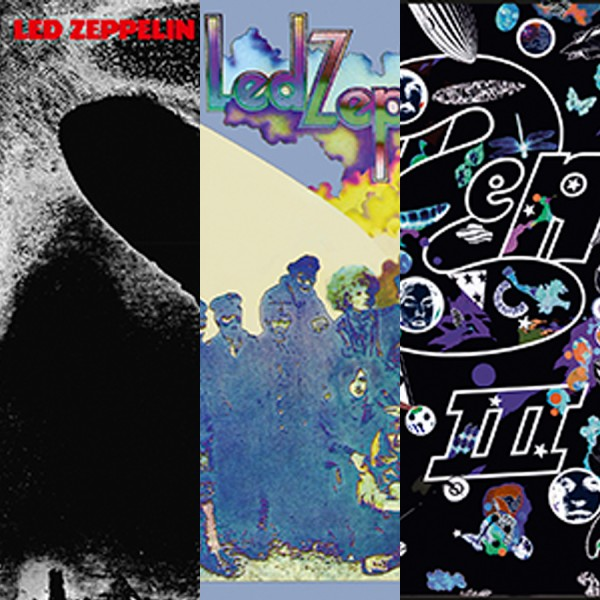 Led Zeppelin I, II, III Remastered HD Digital Audio Bundle