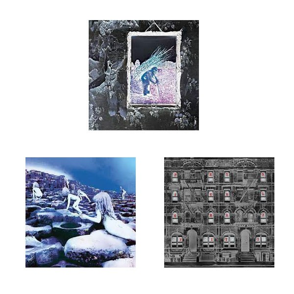 Led Zeppelin IV, Houses of the Holy and Physical Graffiti (Remastered Deluxe HD Digital Audio)