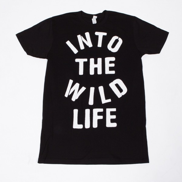 Into the Wild Life Stencil Slim Fit T-Shirt