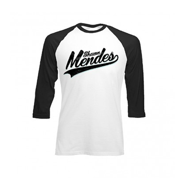 Mendes Baseball Slim Fit Raglan T-Shirt