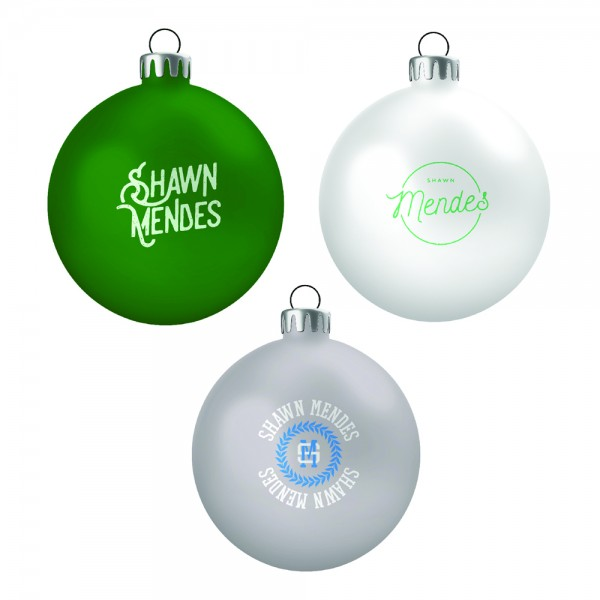 Shawn Mendes Ornament Set